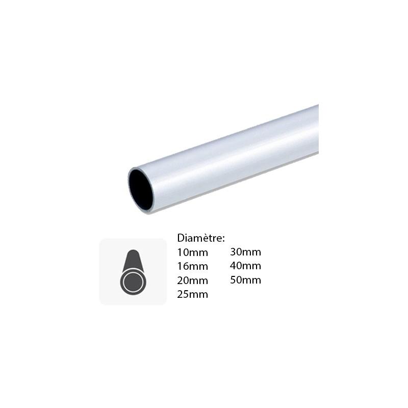 tube rond aluminium tube rond aluminium anodis l 1 m x mm leroy merlin tube aluminium rond. Black Bedroom Furniture Sets. Home Design Ideas