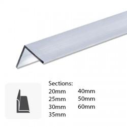 Barre de fer profilé cornière alu