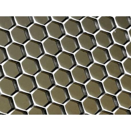 Tôle sur-mesure type nid d'abeille petit modèle