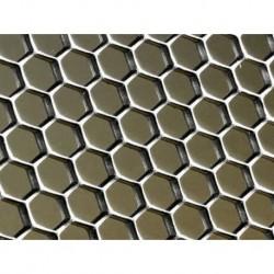 Tôle sur-mesure type nid d'abeille grand modèle
