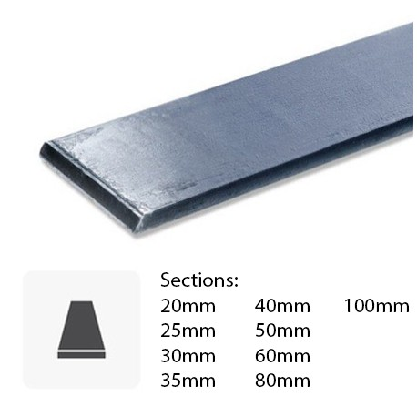 Fer plat en métal sur mesure