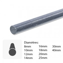 Barre de fer rond en acier sur mesure