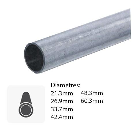 Barre de tube rond en fer sur mesure