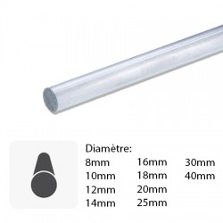 Barre aluminium Ronde sur mesure