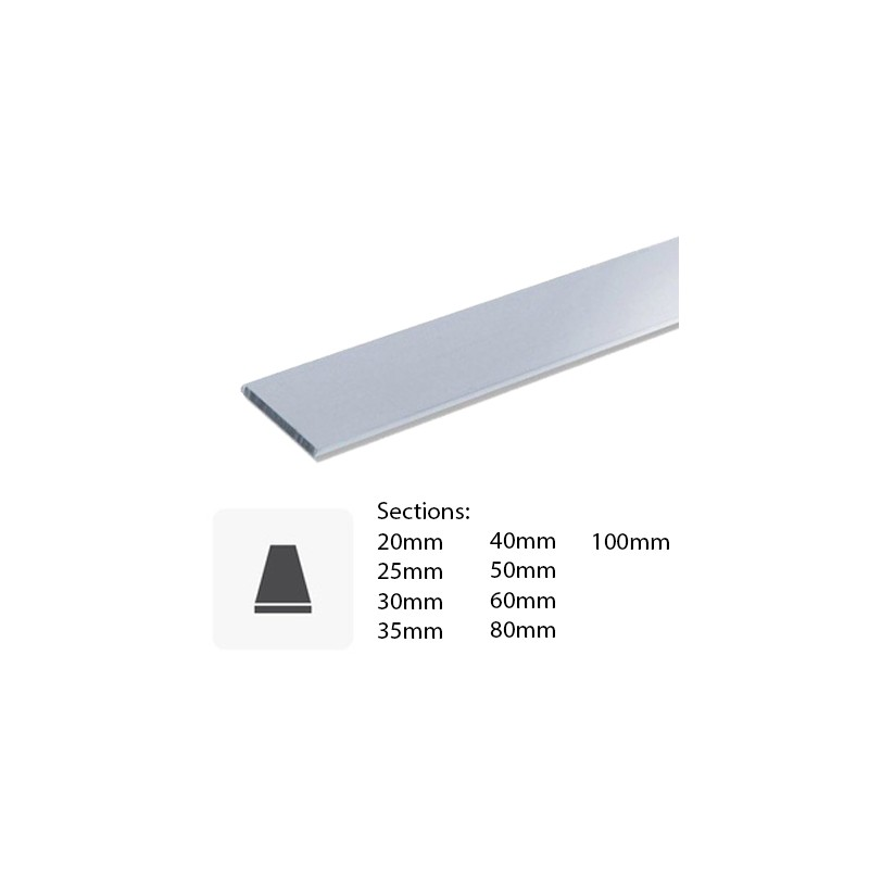 Barre Profil Plat En Aluminium Sur Mesure