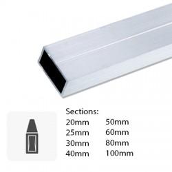 Barre de tube Rectangulaire sur mesure