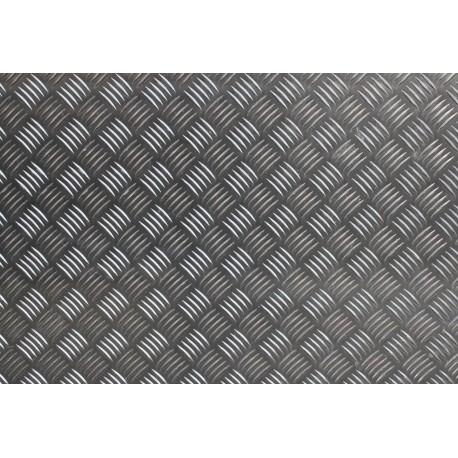 Tôle larmée en aluminium quintet de différentes épaisseurs