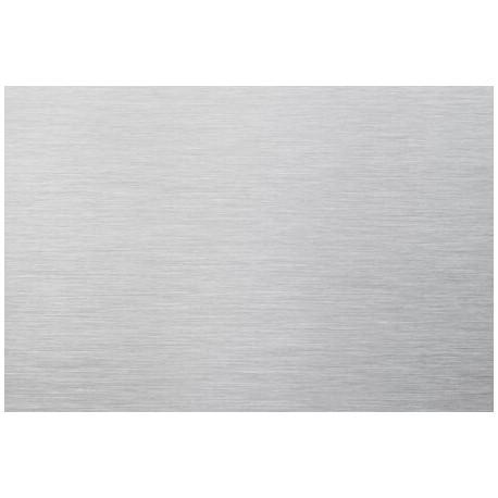 Tôle en aluminium anodisé brossé