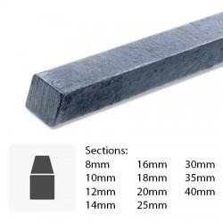 Barre de fer carré en acier sur mesure