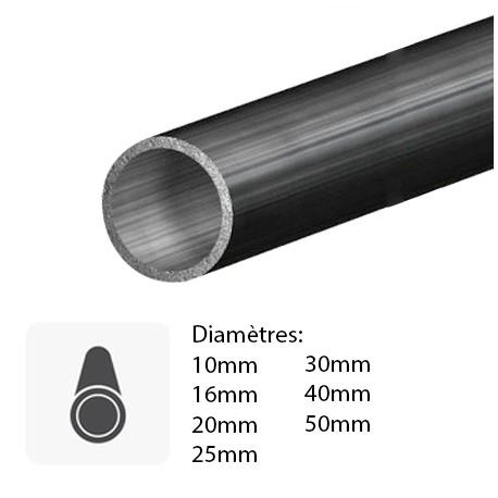 tube rond de précision en métal sur mesure