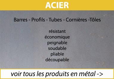 Tous les produits en métal